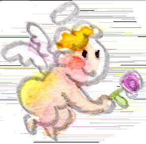 イラスト 水彩 天使