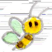 イラスト 水彩 蜂