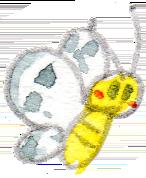イラスト 水彩 蝶