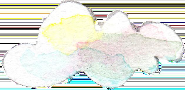 水彩 イラスト 雲