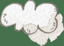 イラスト 水彩 雲